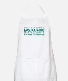 Good Logistician BBQ Apron