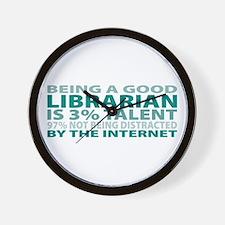 Good Librarian Wall Clock
