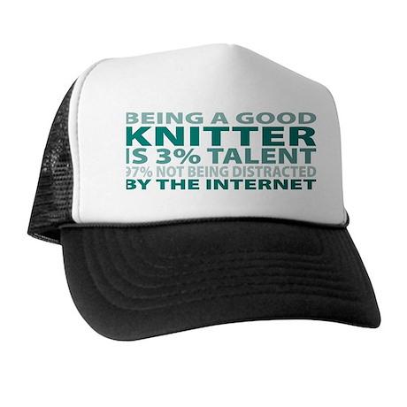 Good Knitter Trucker Hat