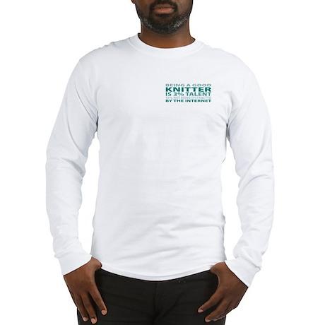 Good Knitter Long Sleeve T-Shirt