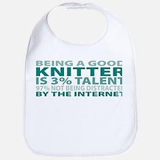 Good Knitter Bib