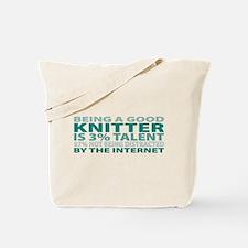 Good Knitter Tote Bag