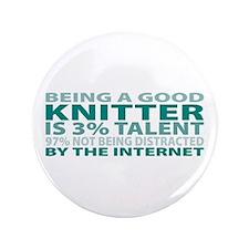 """Good Knitter 3.5"""" Button (100 pack)"""