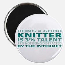 """Good Knitter 2.25"""" Magnet (10 pack)"""