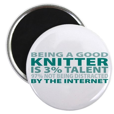 """Good Knitter 2.25"""" Magnet (100 pack)"""