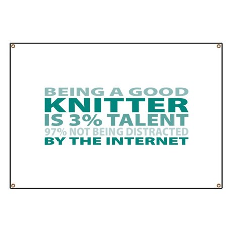 Good Knitter Banner