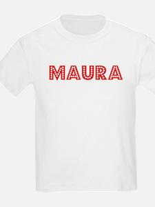 Retro Maura (Red) T-Shirt