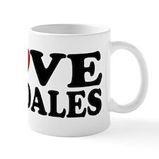 I Love Airedales Mug