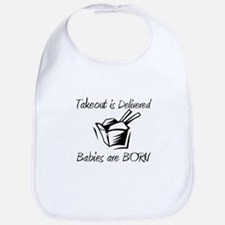 Babies are Born Bib