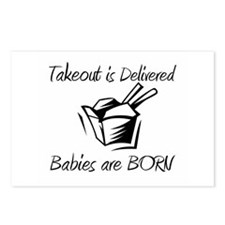 Babies are Born Postcards (Package of 8)