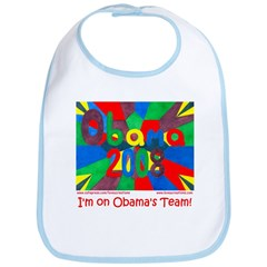 Barack Obama 2008 TEAM OBAMA Baby's Bib