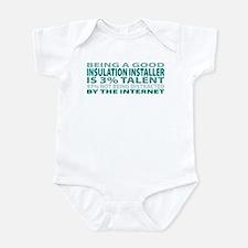 Good Insulation Installer Infant Bodysuit
