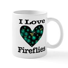 I Love Fireflies Midnight Hea Mug