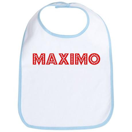 Retro Maximo (Red) Bib