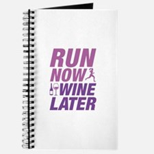 Run Now Wine Later Journal