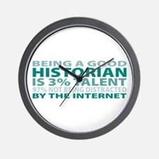 Good Historian Wall Clock