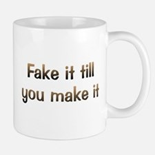 CW Fake It Small Mugs