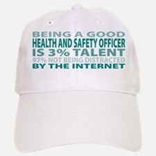 Good Health and Safety Officer Baseball Baseball Cap
