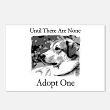 Until There Are None...Adopt Postcards (Package o