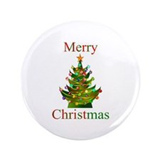 """Christmas 3.5"""" Button (100 pack)"""