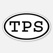 TPS Oval Oval Decal