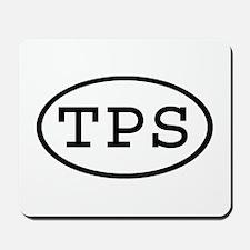 TPS Oval Mousepad