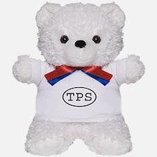 TPS Oval Teddy Bear