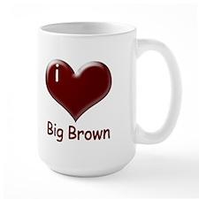 I heart Big Brown Mug