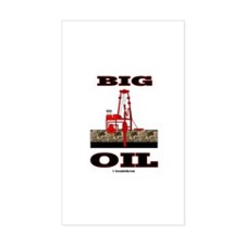 Big Oil Rectangle Decal