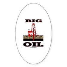 Big Oil Oval Decal