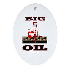 Big Oil Oval Ornament