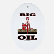 Big Oil Oval Ornament