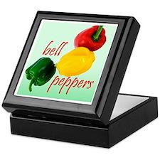 Bell Peppers Keepsake Box