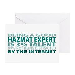 Good Hazmat Expert Greeting Card