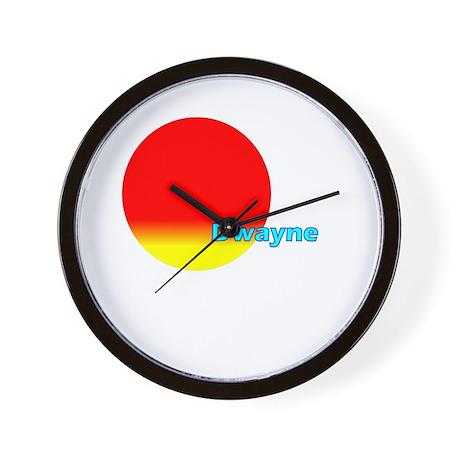 Dwayne Wall Clock