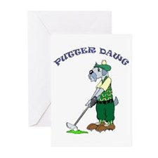 PutterDawg Greeting Cards (Pk of 20)
