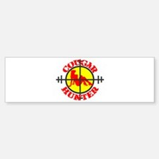 COUGAR HUNTER SHIRT PROFESSIO Bumper Bumper Bumper Sticker