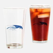 BLUE Drinking Glass