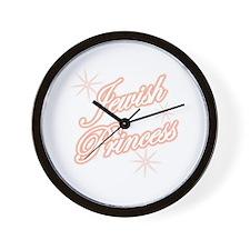 Jewish Princess - Peach Wall Clock