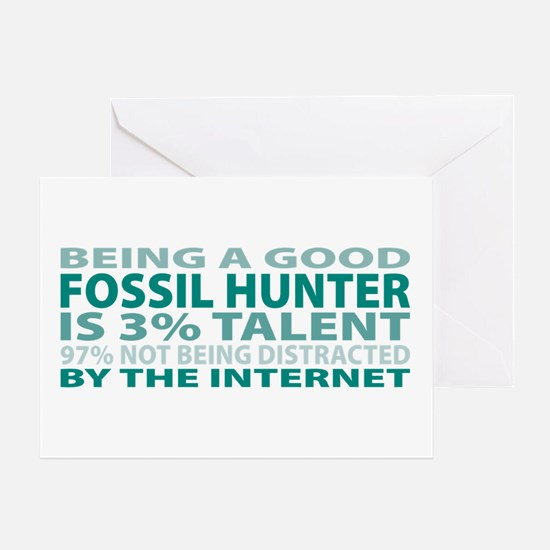 Good Fossil Hunter Greeting Card