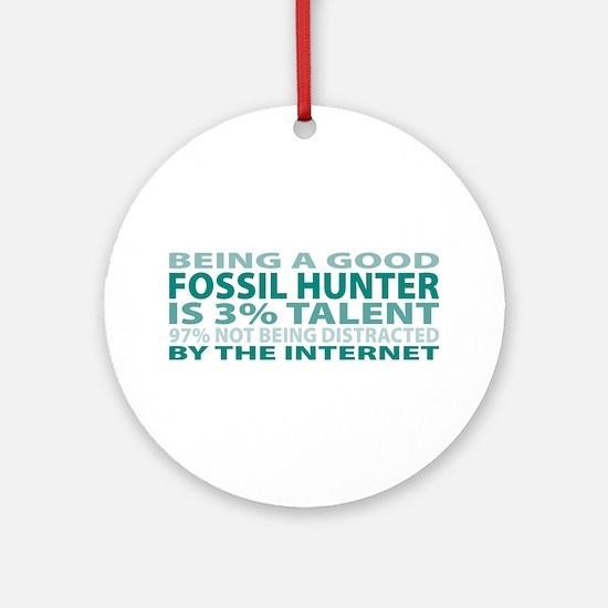 Good Fossil Hunter Ornament (Round)