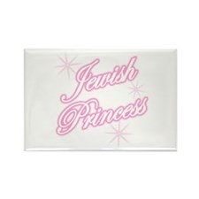 Jewish Princess - Pink Rectangle Magnet