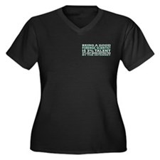 Good Forensic Scientist Women's Plus Size V-Neck D