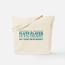 Good Flute Player Tote Bag