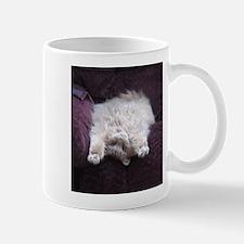 Fuzzy Yoga Cat Mug