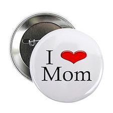 I Heart Mom Button