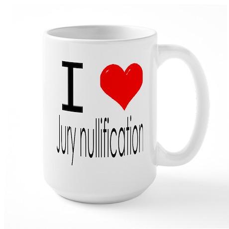 jury nullification Large Mug