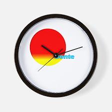 Donte Wall Clock