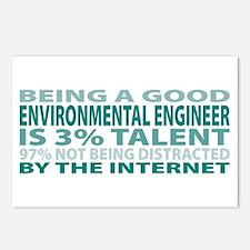 Good Environmental Engineer Postcards (Package of