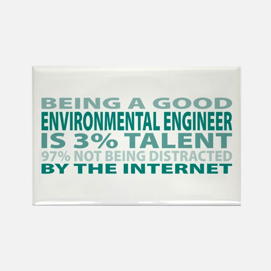 Good Environmental Engineer Rectangle Magnet